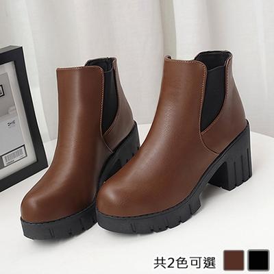 KEITH-WILL時尚鞋館-(現貨)歐洲站都會風采短靴(共1色)