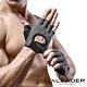 Leader X 專業健身 耐磨防滑運動手套 騎行半指手套 男女適用 黑色 product thumbnail 1