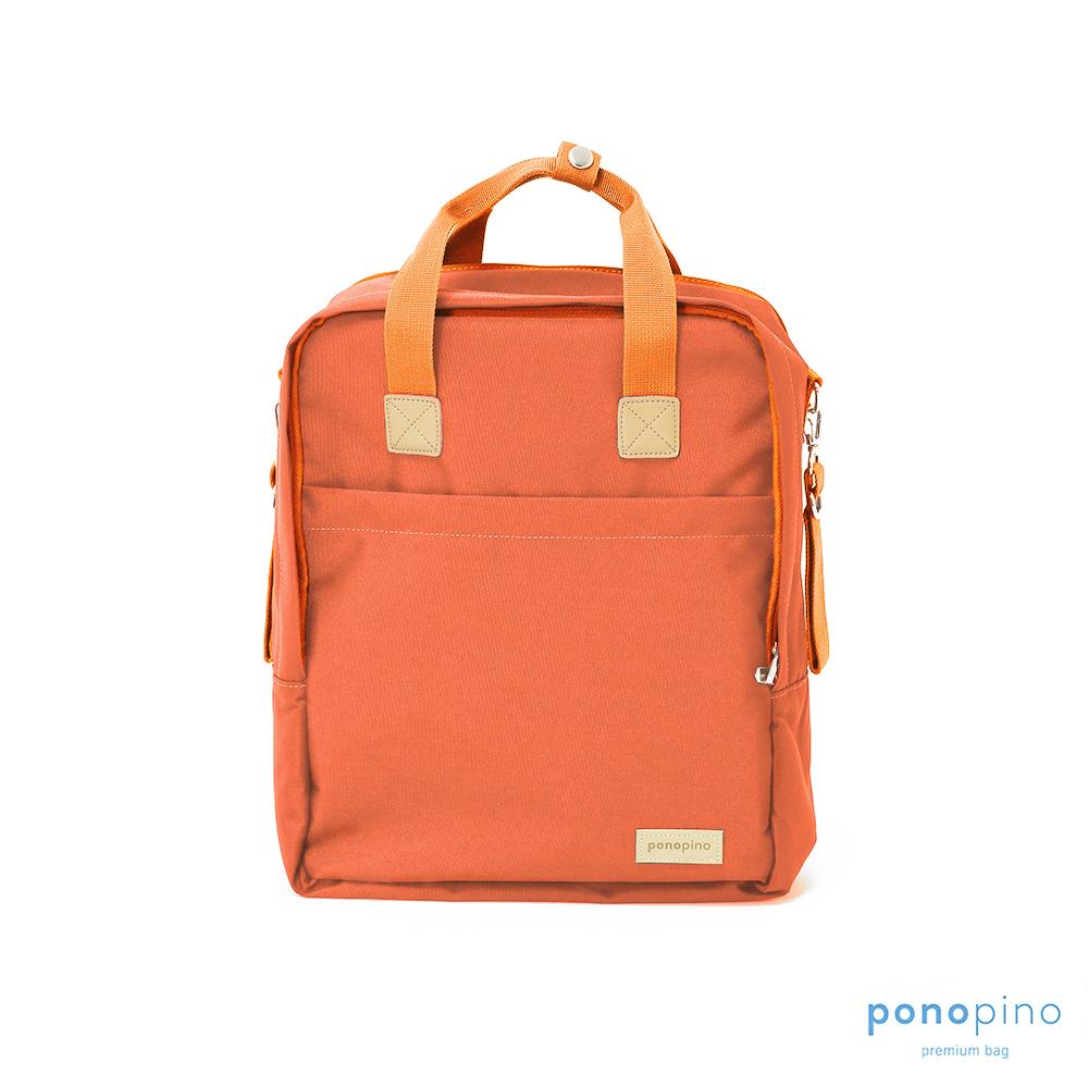 Ponopino 輕量型袋鼠媽媽後背包-橘色 @ Y!購物