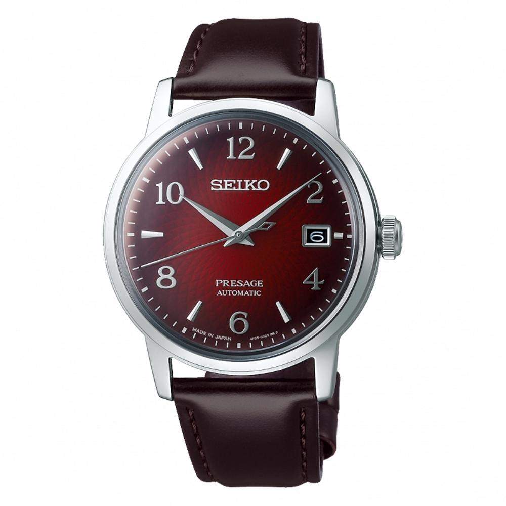 SEIKO PRESAGE 調酒師系列機械腕錶4R35-04A0R(SRPE41J1)