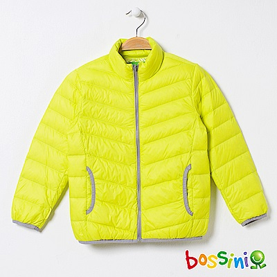 bossini童-高效熱能輕便羽絨外套01亮黃