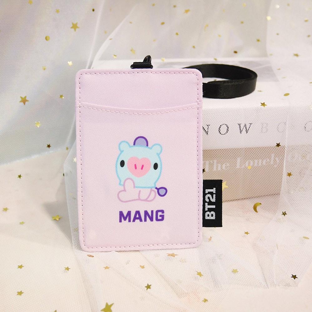 宇宙明星BT21-BABY寶寶卡片套-MANG-紫色 ODBT20D10PL