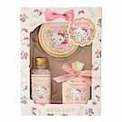 Sanrio HELLO KITTY香氛保濕沐浴品禮盒3件組(百花香)