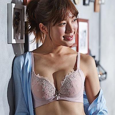 蕾黛絲-菲卡高脅邊真水內衣 D罩杯 裸膚