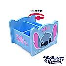 Disney 史迪奇 360旋轉收納盒 筆盒 筆桶 飾品盒 置物盒