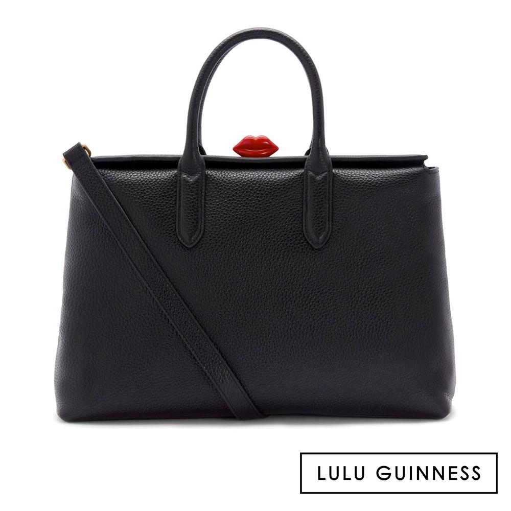 LULU GUINNESS MARILYN 手提/肩背包 (黑)