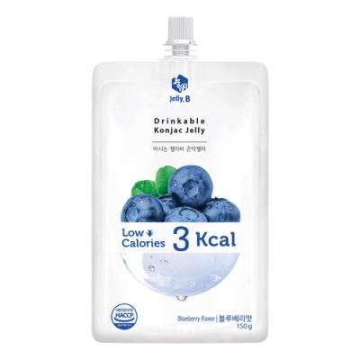 Jelly.B 低卡蒟蒻果凍-藍莓味(150g)