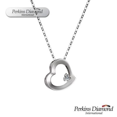 PERKINS 伯金仕 - Heart系列 18K金鑽石項鍊