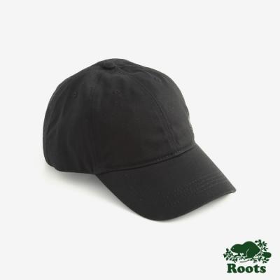 Roots配件- 經典海狸棒球帽-黑