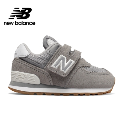 【New Balance】童鞋_中性_淺灰_IV574SPU-W楦
