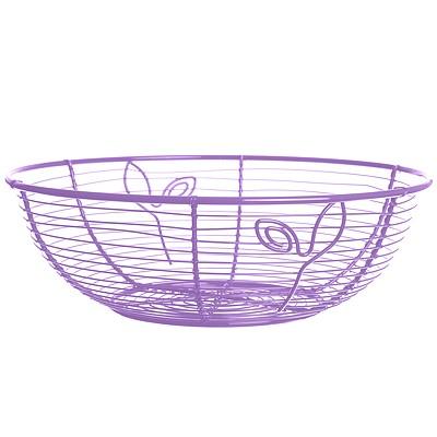 《EXCELSA》鏤空水果籃(紫20cm)