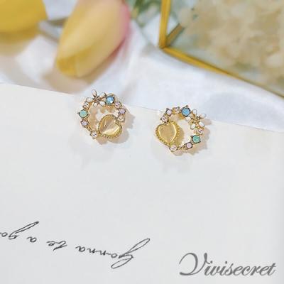 VIVI SECRET 甜美可愛精緻小花耳環