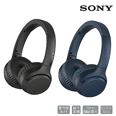 SONY重低音藍牙耳罩式耳機 WH-XB700