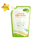 【箱購 】nac nac 奶瓶蔬果酵素洗潔慕斯補充包 600mlx12包