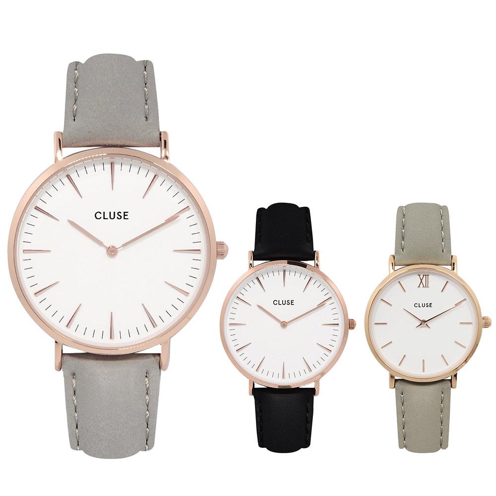 CLUSE荷蘭精品手錶 波西米亞系列皮革錶帶 33/38mm(多款可選)