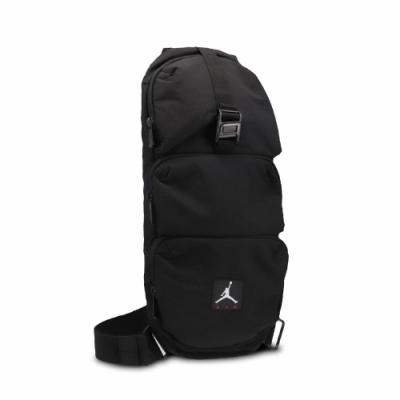 Nike 斜背包 Jordan Shoulder Bag 喬丹 飛人 外出 輕便 休閒百搭 黑 白 JD2113014AD001