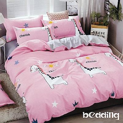 BEDDING-活性印染6尺雙人加大薄床包三件組-玩趣童年