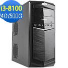 技嘉B360平台[明月鬥魂]i3四核效能電腦