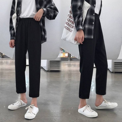 【韓國K.W.】(預購)獨家款典藏系列寬褲-1色