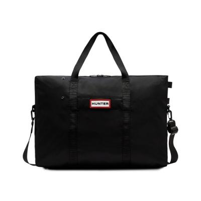 HUNTER - 尼龍旅行袋 - 黑