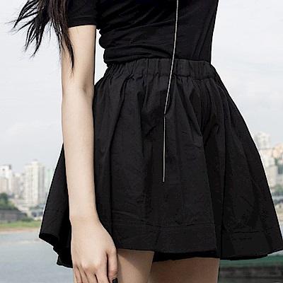 設計所在Style-新款暗黑簡約隱形襠短褲裙