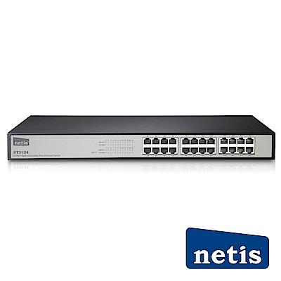 netis ST3124 24埠機架式乙太網路交換器