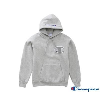 Champion AS Big C Logo連帽Tee 灰色