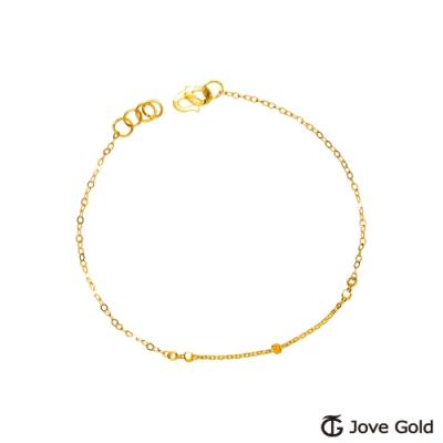 Jove gold漾金飾 知性黃金手鍊
