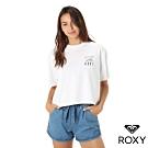 【ROXY】ROXY WAVES TEE 時尚上衣 白