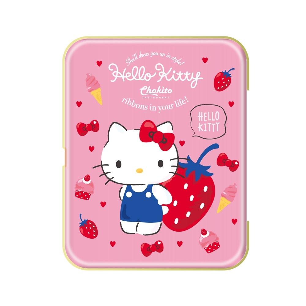 巧趣多三麗鷗草莓軟糖盒-手繪風 25g