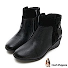 Hush Puppies ODELL 個性風短靴-黑