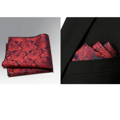 Laifuu拉福,紅翔精品口袋巾西裝巾新郎結婚巾(單口袋巾)