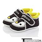 TOPU ONE 可愛企鵝輕量減壓寶寶學步童鞋-黑