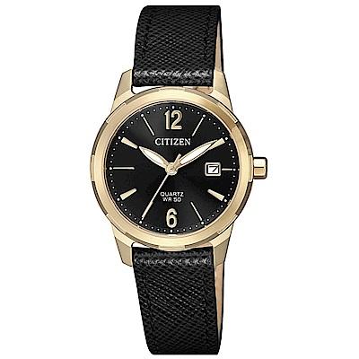 CITIZEN 星辰LADYS完美女人時尚腕錶/EU6078-09E