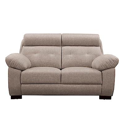 文創集 艾波時尚貓抓皮革二人座沙發-162x97x99cm-免組