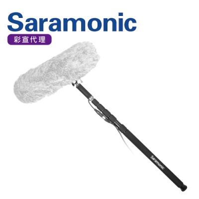 Saramonic楓笛MAGIC BOOM POLE五段式3米長錄音杆/挑杆(彩宣公司貨)