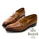 BERWICK西班牙進口-固特異工藝尖頭皮底紳士樂福鞋 -咖 435039KM-20 product thumbnail 1
