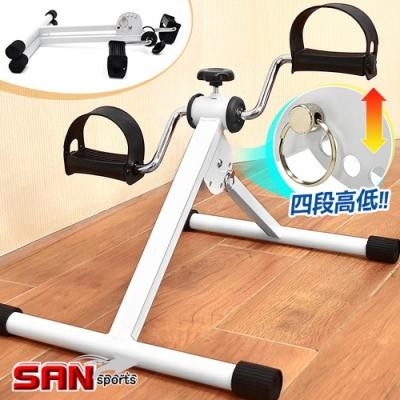 兩用手足健身車(折疊式) 手腳訓練器 迷你美腿機-(快)