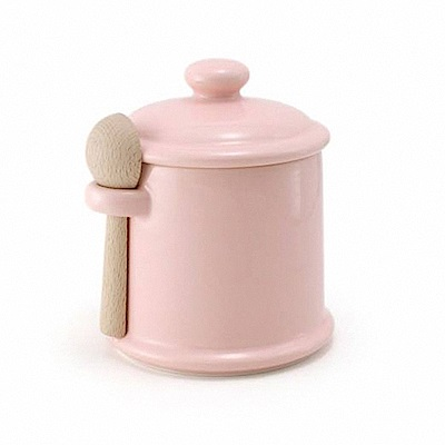 ZERO JAPAN 陶瓷儲物罐(桃子粉)300ml