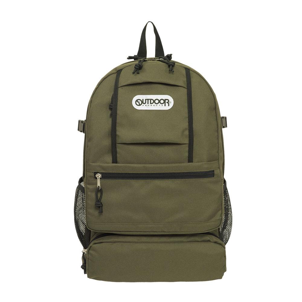 【OUTDOOR】風格前線-15.6吋筆電後背包-卡其綠 OD111121KI