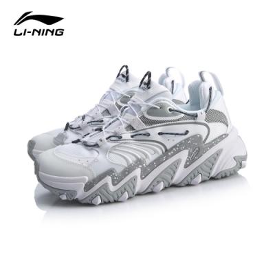 LI-NING 李寧 X-Claw貓爪 時尚潮流休閒鞋 女 標白/標黑(AGLQ014-1)