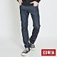 EDWIN EDGE LINE COOL 涼感 藍袋花 窄直筒牛仔褲-男-原藍色 product thumbnail 1