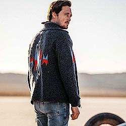 Deus Ex Machina 刺繡羊毛夾克