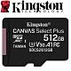 Kingston 金士頓 512G 100MB/s U3 microSDXC UHS-I A1 V30 記憶卡 SDCS2/512GB product thumbnail 1