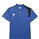 KAPPA義大利 時尚型男舒適吸濕排汗短袖POLO衫 義大利藍麻花 321752WX7F product thumbnail 1