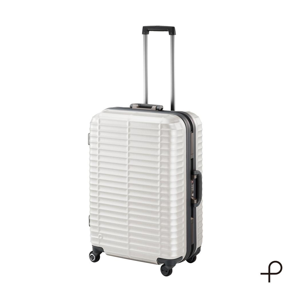 【日本製造PROTECA】剛容-26吋最高強度鋁框行李箱 (暖灰)
