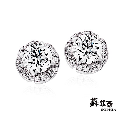 蘇菲亞SOPHIA 耳環-週年紀念0.40克拉鑽石耳環
