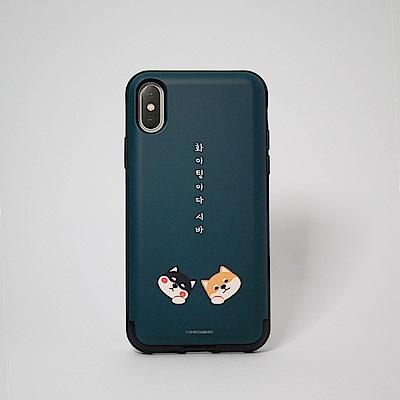 Shiro&Maro(深綠S&M款)隨身帶卡片手機殼