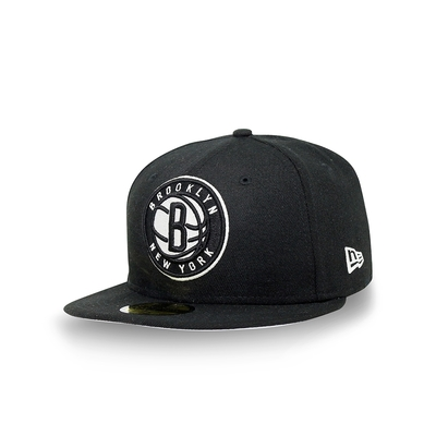 New Era 59FIFTY 5950 NBA 球隊色帽 籃網隊