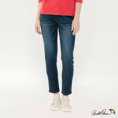 Arnold Palmer -女裝-基本合身版牛仔褲-深藍色